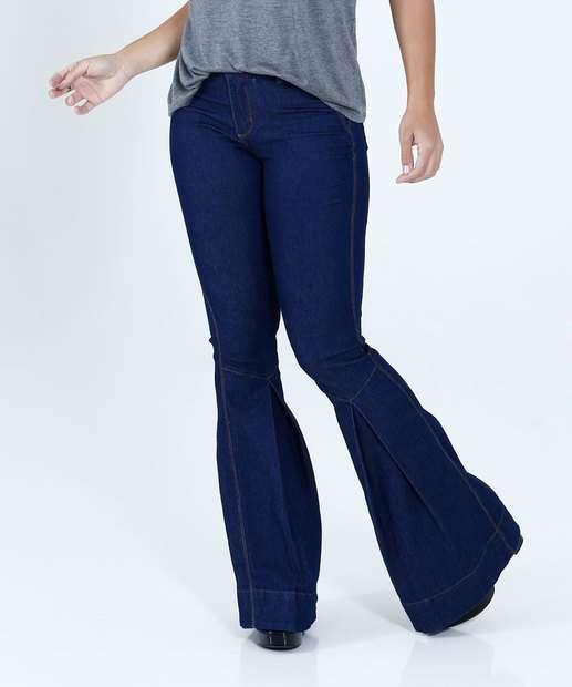 Image_Calça Feminina Jeans Flare Mix Jeans