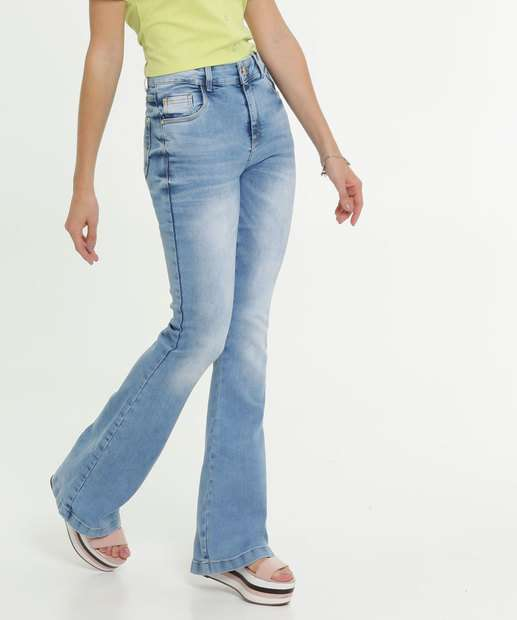 Image_Calça Jeans Flare Feminina Zune Jeans By Sabrina Sato