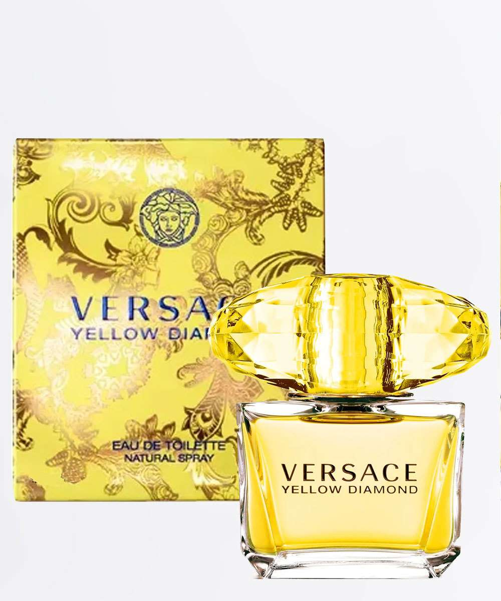 Perfume Feminino Yellow Diamond Versace - Eau de Toilette 50ml