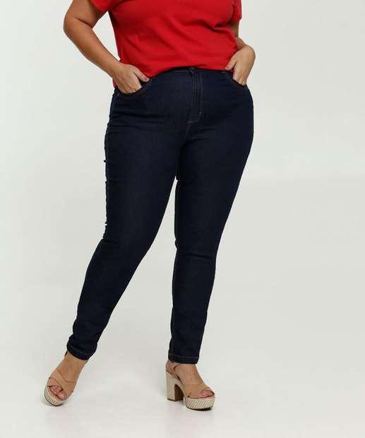 Image_Calça Jeans Feminina Skinny Plus Size Uber