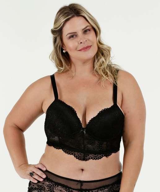 Image_Sutiã Feminino Top Corpete Renda Plus Size Marisa