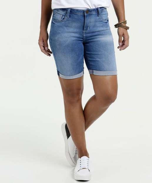 Image_Bermuda Feminina Jeans Barra Dobrada Marisa