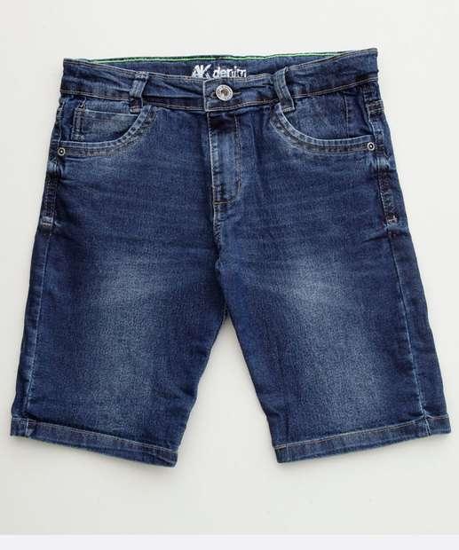 Image_Bermuda Infantil Jeans Stretch Bolsos
