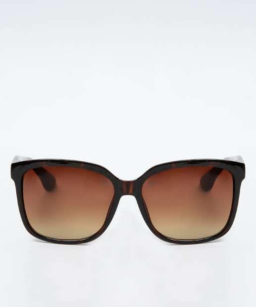 Image_Óculos de Sol Feminino Quadrado Animal Print Marisa