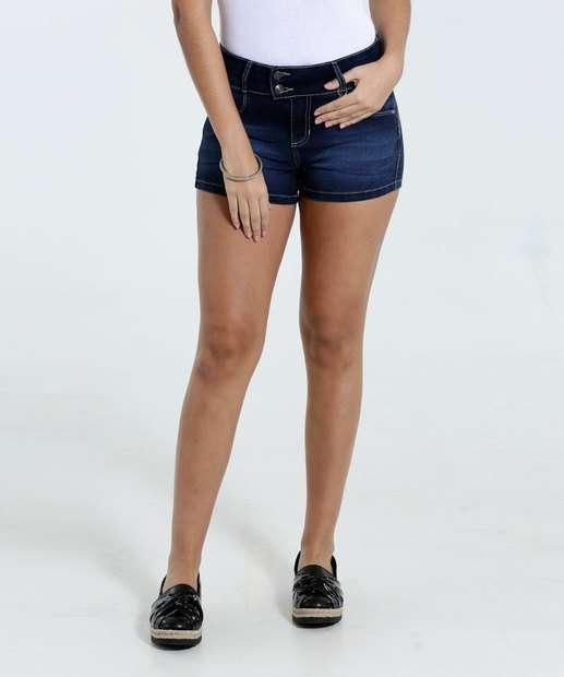 Image_Short Feminino Jeans Stretch Marisa