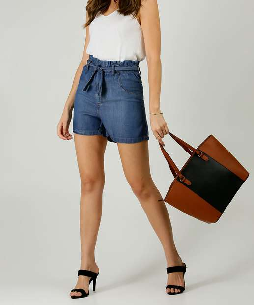 Image_Short Feminino Jeans Clochard