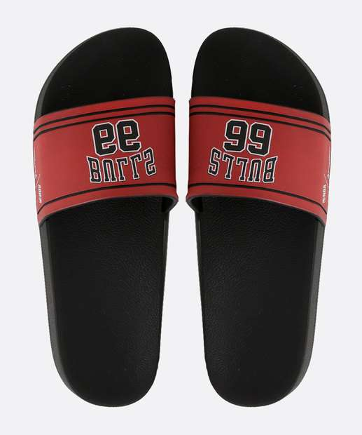Image_Chinelo Masculino Slide NBA Chicago Bulls Rider
