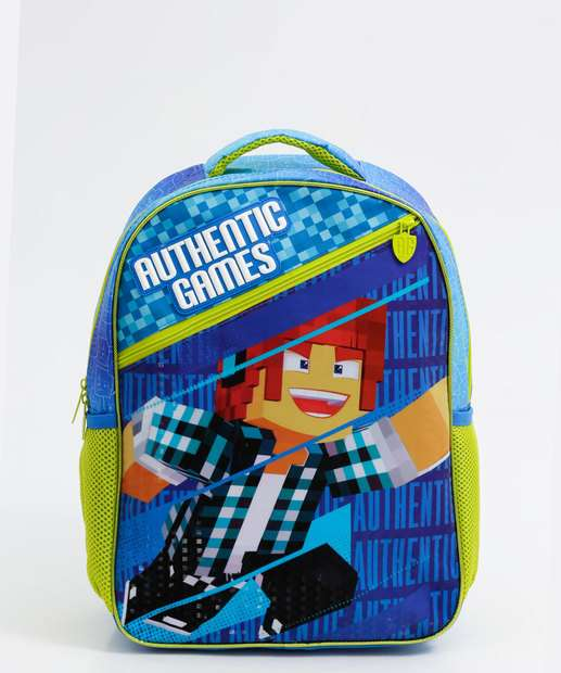 Image_Mochila Escolar Infantil Estampada Authentic Games