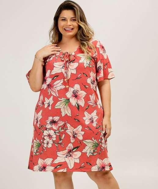 Image_Vestido Plus Size Feminino Estampa Tropical Marisa