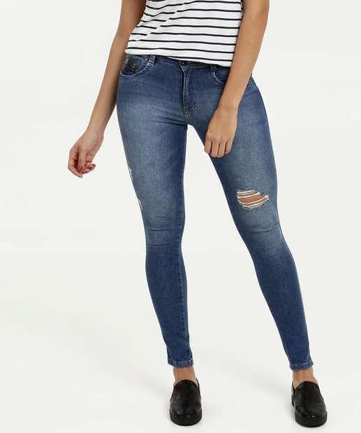 Image_Calça Feminina Jeans Skinny Destroyed Biotipo
