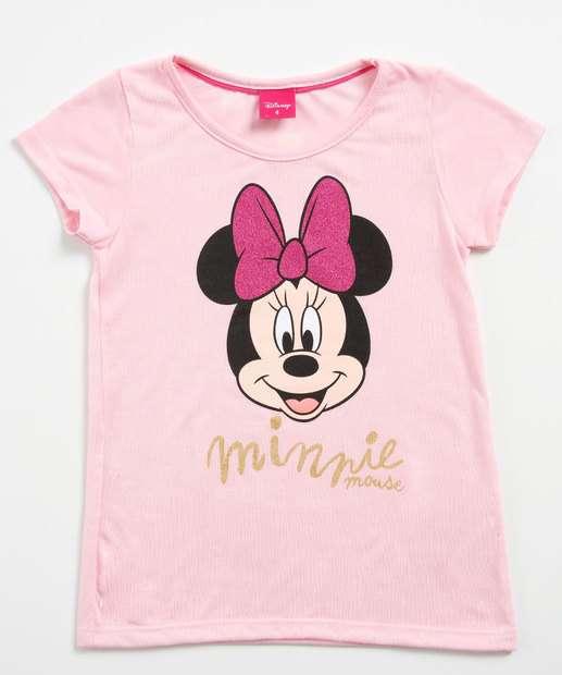 Image_Blusa Infantil Estampa Minnie Glitter Disney