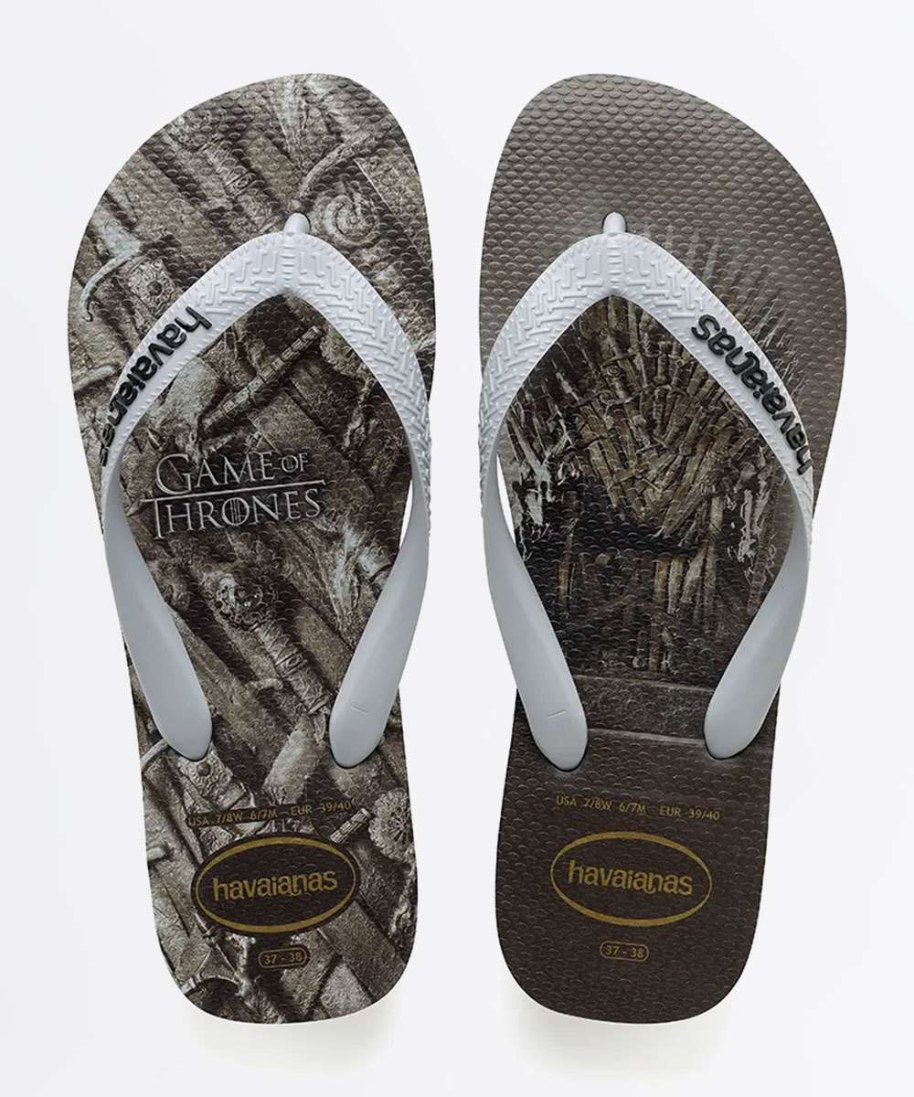 Chinelo Havaianas Masculino Game Of Thrones