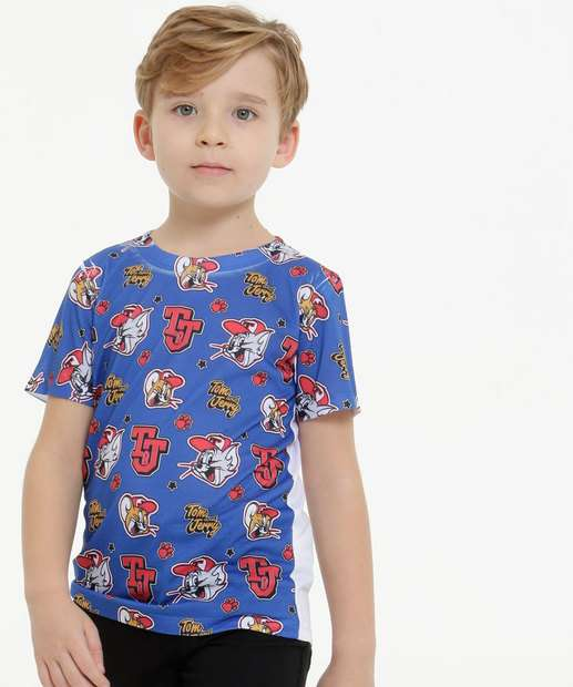 Image_Camiseta Infantil Tom e Jerry Warner Bros Tam 4 a 10