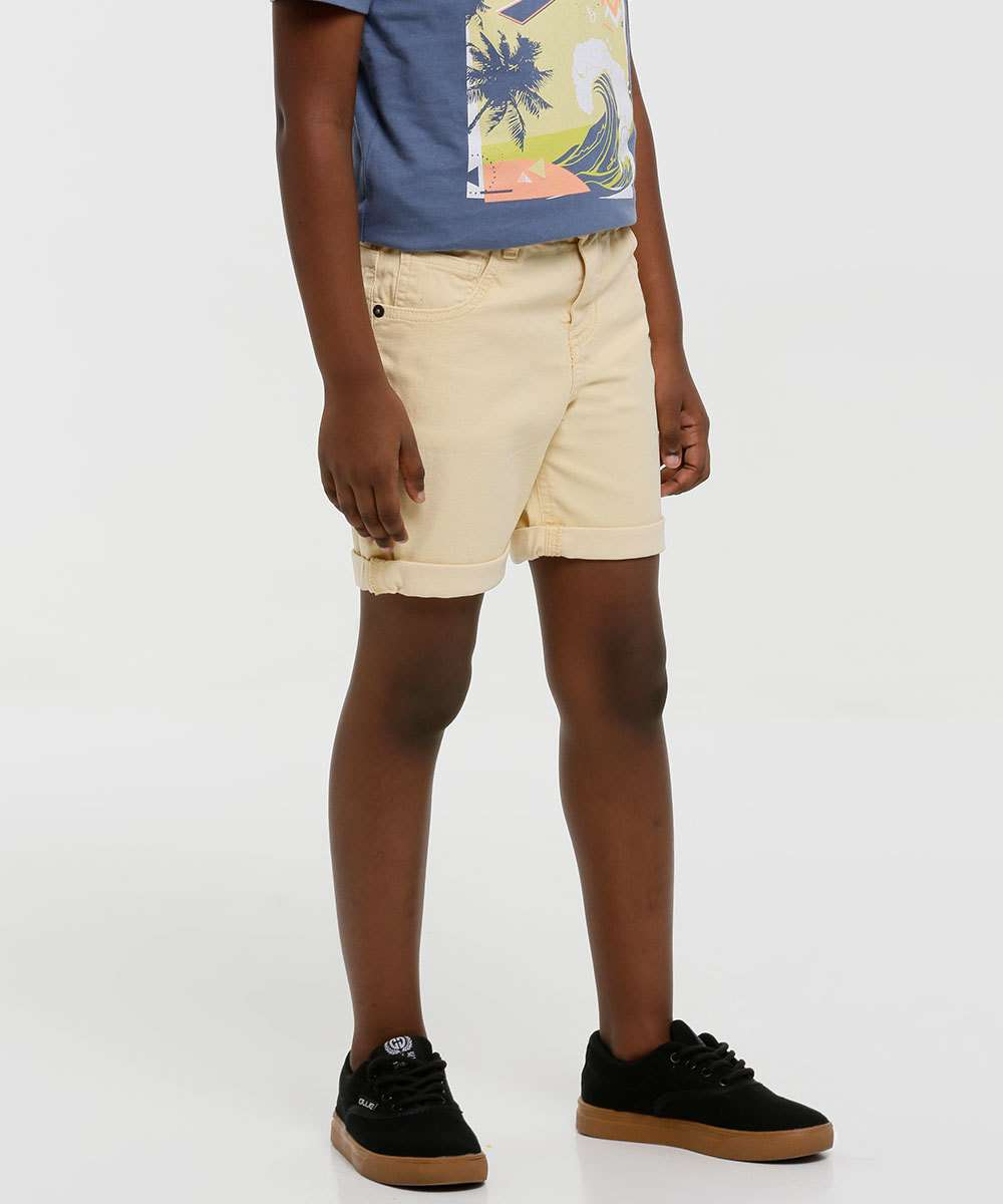 Bermuda Infantil Sarja MR Tam 4 a 10