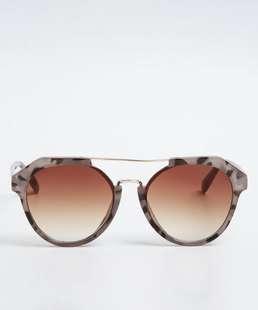 Óculos de Sol Feminino Vintage Camuflado Marisa