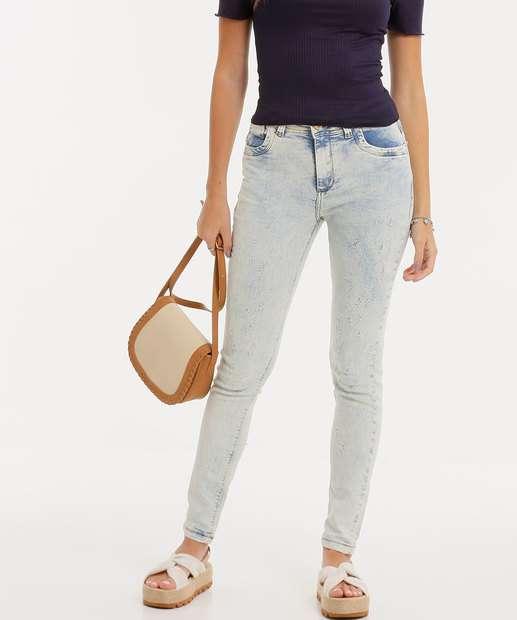 Image_Calça Skinny Delavê Feminina Zune Jeans