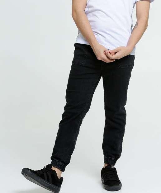 Image_Calça Juvenil Jeans Jogger MR Tam 10 a 16
