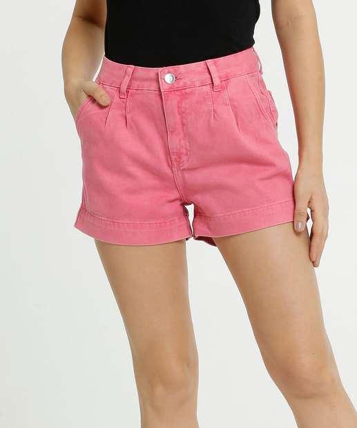 Image_Short Feminino Sarja Bolsos Zune Jeans