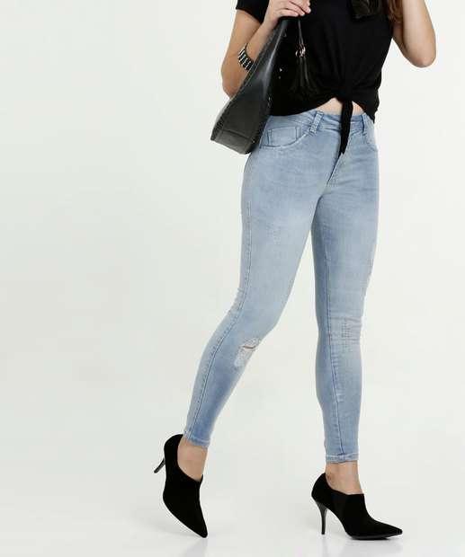 Image_Calça Feminina Jeans Skinny Strass Biotipo