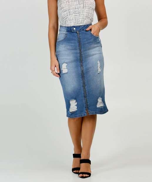 Image_Saia Midi Jeans Puídos Feminina Biotipo