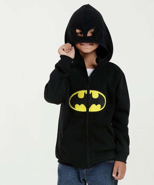 Image_Casaco Infantil Capuz Batman Liga da Justiça