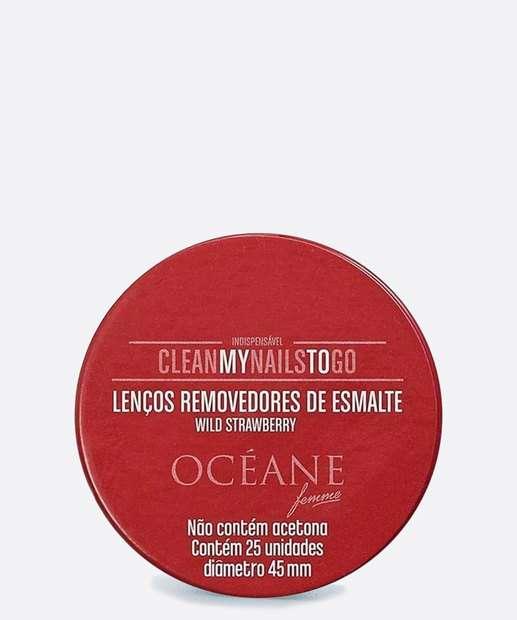 Image_Lenço Removerdor de Esmalte Wild Strawberry Océane