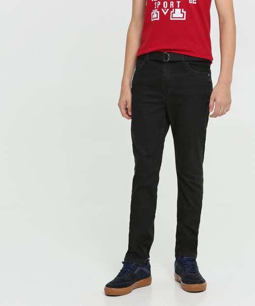 Image_Calça Juvenil Jeans Cinto MR