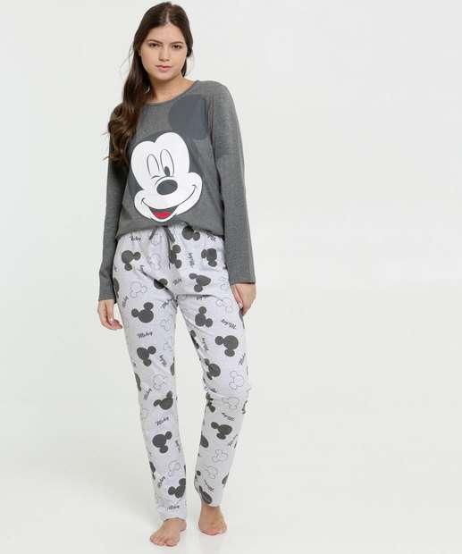 Image_Pijama Feminino Estampa Mickey Disney