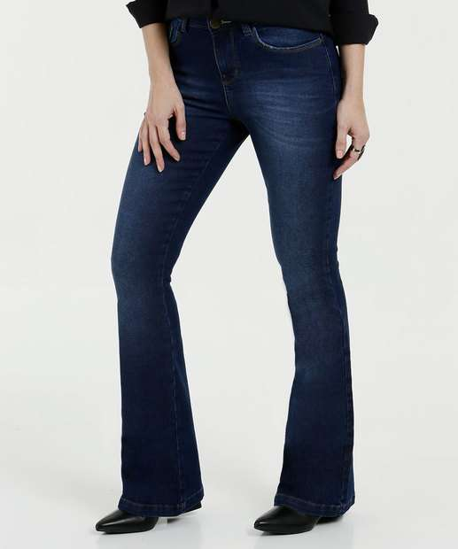 Image_Calça Feminina Flare Jeans Marisa
