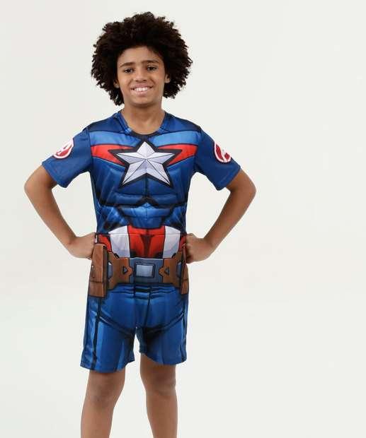 Image_Fantasia Infantil Capitão América Manga Curta Marvel