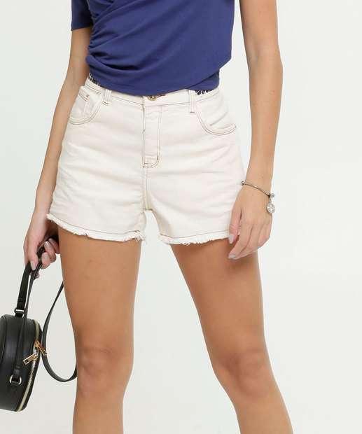 Image_Short Feminino Cintura Alta Zune Jeans