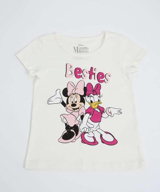 Image_Blusa Infantil Manga Curta Minnie Disney Tam 1 a 4