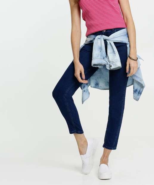Image_Calça Feminina Jeans Skinny Cintura Média Gups