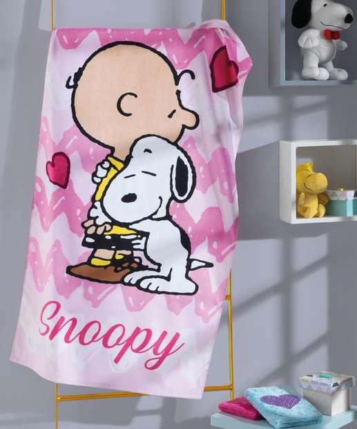 Image_Toalha de Banho Infantil Estampa Snoopy Döhler