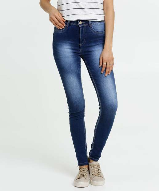 Image_Calça Jeans Stretch Skinny Feminina Sawary