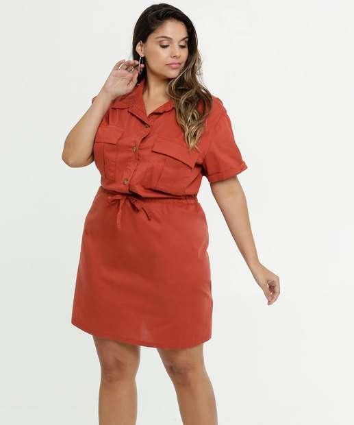 Image_Vestido Feminino Bolsos Plus Size Marisa