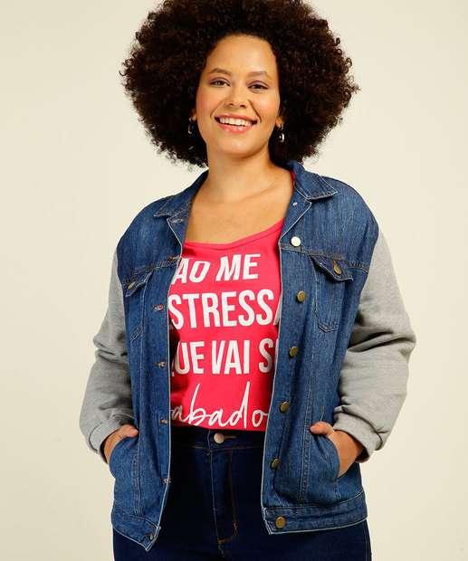 Image_Jaqueta Plus Size Feminina Jeans Cambos
