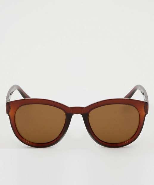 dd50f6af09097 Óculos de Sol Feminino Redondo Marisa