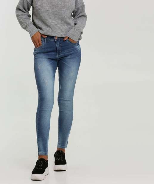 Image_Calça Cigarrete Puídos Feminina Zune Jeans By Sabrina Sato