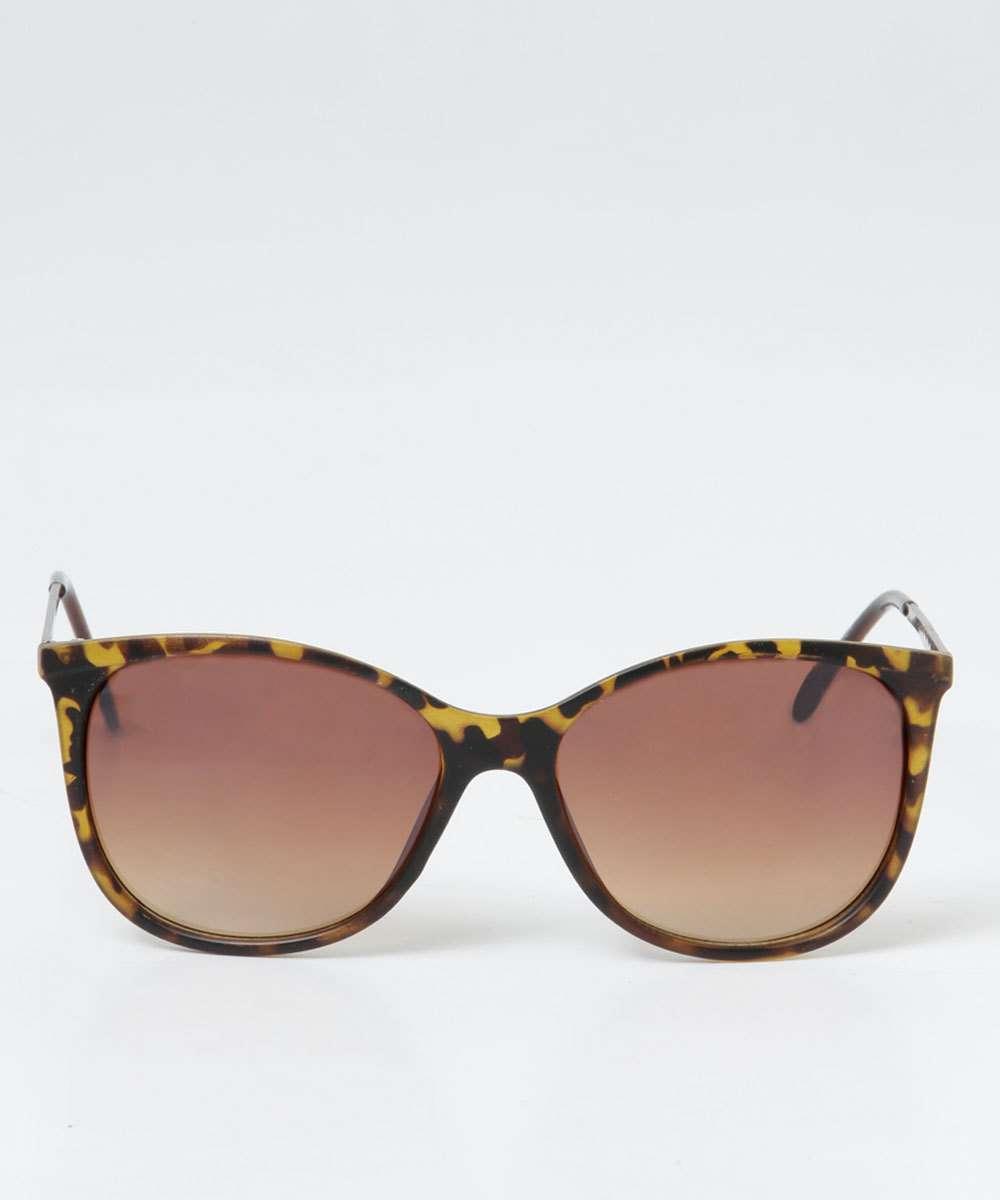 4b3c4d98e Óculos de Sol Feminino Estampa Onça Marisa | Marisa