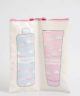 Necessaire Feminina Porta Shampoo e Condicionador Marisa