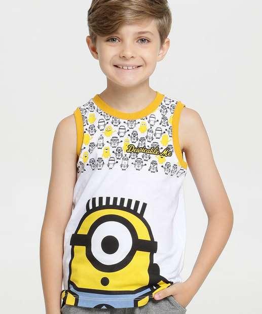 Image_Regata Infantil Estampa Minions Universal