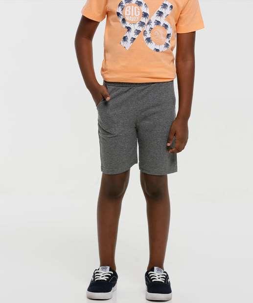Image_Bermuda Infantil Moletinho Bolsos Tam 4 a 10