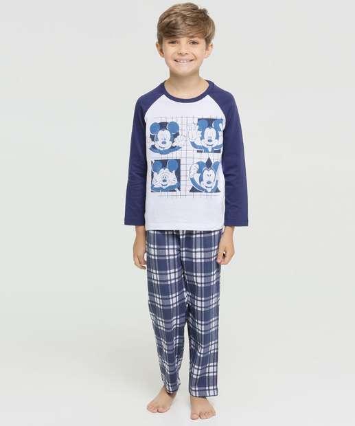Image_Pijama Infantil Estampa Mickey Manga Longa Disney
