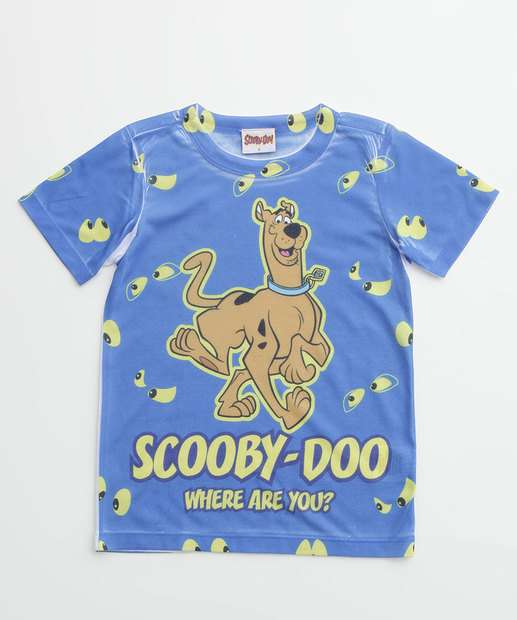 Image_Camiseta Infantil Scooby Doo Warner Bros Tam 4 a 10