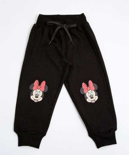 Image_Calça Infantil Bebê Moletinho Estampa Minnie Disney