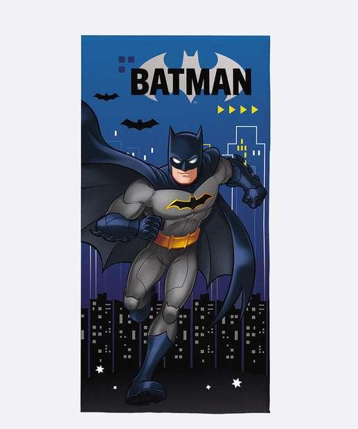 Image_Toalha de Banho Aveludada Infantil Batman Lepper