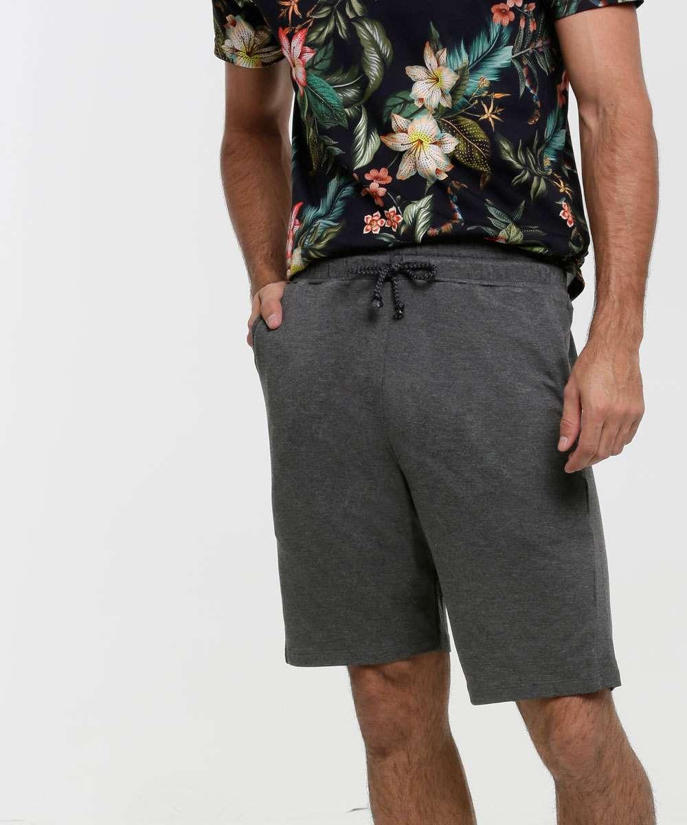 Bermuda Masculina Moletinho Bolso