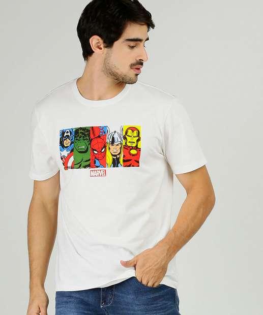 Image_Camiseta Masculina Vingadores Manga Curta Marvel