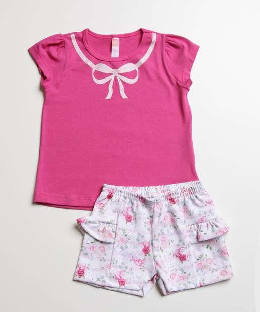 Image_Conjunto Infantil Estampa Floral Tam 1 a 3
